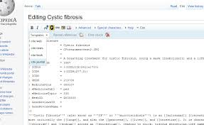 example of an edit window containing wikimarkup code the editing age of wikipedia