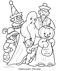 Printable Coloring Pictures Halloween 011