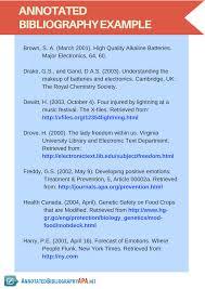 Apa Annotated Bibliography Generator