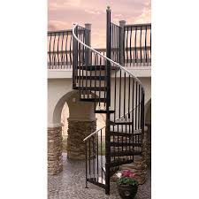 exterior wrought iron stair railing kits. alluring home interior design with various wrought iron spiral staircase kit : attractive image of exterior stair railing kits