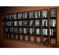 wall mounted dvd rack 2 black rack shelf wall mount metal steel material wall mounted shelves wall mounted dvd rack