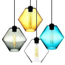 glass pendant light recycled australia