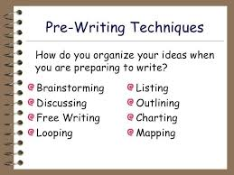 Prewriting Techniques Writing With Smes The Writers For Hire