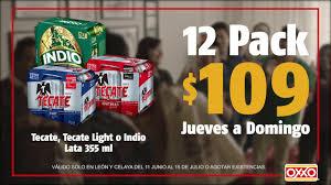 Six Tecate Light Oxxo 18 Pack Tecate Light Precio Oxxo Pogot Bietthunghiduong Co