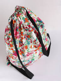 Drawstring Backpack Pattern Custom DIY Drawstring Backpack