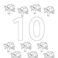 Small Picture Numbers Coloring Pages Print Numbers Pictures to Color All
