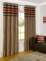 madison ready made lined eyelet curtains