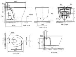 cl31197 wall hung toilet