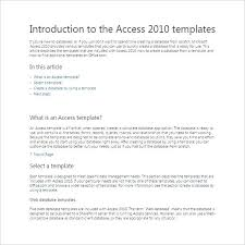 Microsoft Access Work Order Database Ms Access Database Templates Work Order Template Office Free