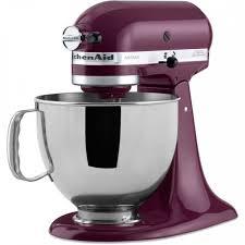 kitchenaid artisan series 5 quart 10 sd boysenberry countertop stand mixer