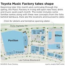 Pavilion At Toyota Music Factory Irving Tx Seating Chart You Will Love Toyota Music Factory Pavilion Seating Chart