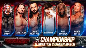 WWE Elimination chamber 2021 Match card And Winners Predictions | Elimination  chamber 2021 Winners - YouTube