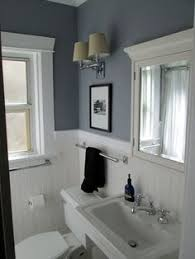 white beadboard bathroom. Paint Color Is Benjamin Moore \ White Beadboard Bathroom P
