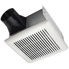 amazon com broan 688 ceiling and wall mount fan 50 cfm 4 0 sones broan ae80b invent energy star qualified single speed ventilation fan 80 cfm 1 5 sones