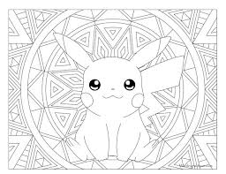 Coloring Pages Pokemon Adult Page Pikachu Coloring Pages Pinterest