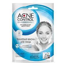 <b>Тканевая маска</b> для лица ФИТОкосметик «Acne Control ...