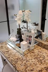 Bathroom Vanity Tray Decor A Spa Bathroom Redo Spa bathrooms Trays and Spa 16