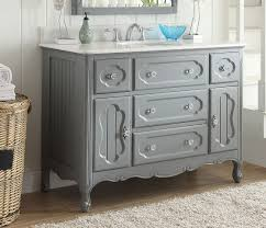 48 inch bathroom vanity grey cottage style vintage gray color 48 wx22 dx35 h cgd1522ck48