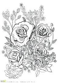 large flower coloring pages big flower coloring pages large flower coloring pages fl big flower coloring