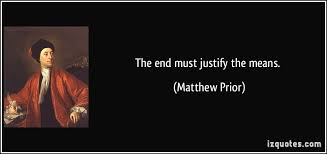 the end justifies the means essay do ends justify the means essay