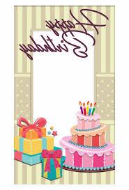 Birthday Cake Photo Frame 8ydm Pretty Birthday Frame Birthday