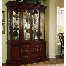 American Drew Cherry Grove China Cabinet in Antique Cherry