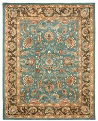 heritage brown blue area rug hg812b 3 x 5