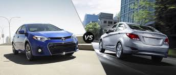 2016 Toyota Corolla vs 2016 Hyundai Accent Sedan