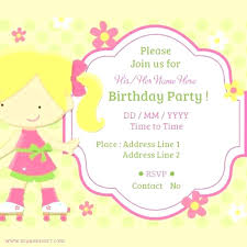 Breathtaking Birthday Party Invitations Online Free