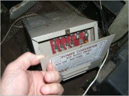airstream converter change over it will have a fuse panel built into the end of it like in this picture shown below