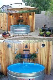 galvanized stock tank bathtub com home depot ideas