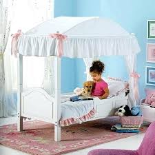 Toddler Canopy Bed Wants One To Be Like A Princess Frozen Uk ...
