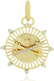 diamond circle necklace the