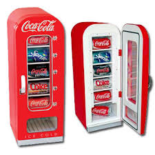 Retro Coca Cola Vending Machine Amazing Thermoelectric Retro CocaCola Vending Refrigerator