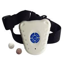 pet life white non shock safe anti bark collar