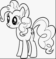 Color Alive Pages Beautiful My Little Pony Pinkie Pie Coloring Pages