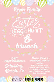 easter egg hunt template free easter egg hunt invitation party like a cherry
