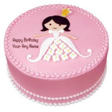 Barbie Happy Birthday Cake Greeting Cards