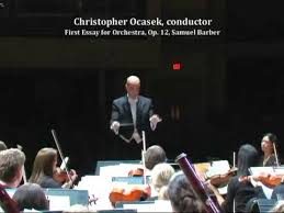 first essay for orchestra op samuel barber christopher  first essay for orchestra op 12 samuel barber christopher ocasek conductor