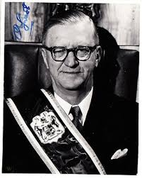 CHARLES R. SWART Signed Photo as first President of the Republic ...