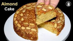 Almond Cake Recipe Without Oven Dry Almond Cake Tea Time