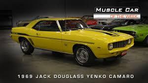 Muscle Car Of The Week Video #62: 1969 Jack Douglass Yenko Camaro ...