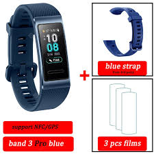 Original Huawei Band 3 pro Smart Bracelet Band 3 GPS Waterproof ...