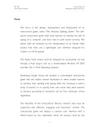Design Proposal Sample Sample Project Proposal Design Document