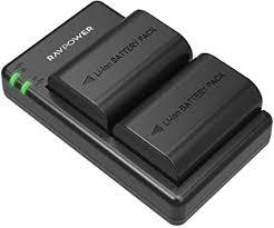 <b>LP</b>-<b>E6</b> Battery RAVPower 2 Pack 2040mAh <b>LP E6N</b> Camera ...
