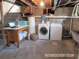 unfinished basement ideas pinterest. Unfinished Basement Laundry Room - It Can Be Done!   The Pinterest Laundry, And Rooms Ideas A