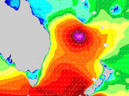 Large Cyclone Swell To Australia Weather To New Zealand