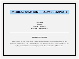 Medical Assistant Resume Objective Amazing 5216 Wonderfull Design Medical Assistant Resume Objective Medical