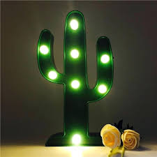 dim night light cute cactus light romantic lamp led baby night light romantic dim table lamps dim night light