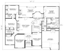 european style house plan beds baths sqft single story sq ft 2000